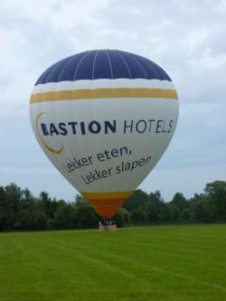 Bedrijfsballon met reclame